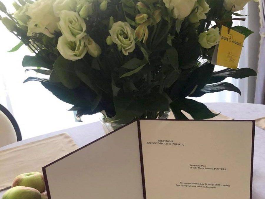 Uroczysta gala wręczenia tytułów profesorskich